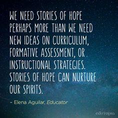 Spread hope like wildfire.