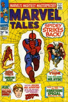Marvel Tales (1964) No. 14 I would only read DC comics until the day I found this comic book on the beach. It was a revelation... the writing was much more interesting than Superman or Batman. I have been a Marvel fan ever since that day.