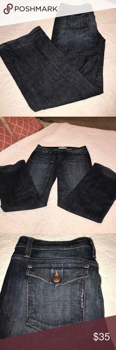 """Joe's jeans Cute Joe's Jeans in """"Provocateur"""" style! Good condition, slight wear on the bottom hem of jeans. Cute button, back pockets. Joe's Jeans Jeans"""