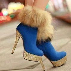 Trendy High Heels For Ladies : Fashion Fox sexy -High Heels Boots High Heel High Heels Boots (black,blue,red) Black Heel Boots, High Heel Boots, Heeled Boots, Bootie Boots, Shoe Boots, Women's Boots, Rain Boots, Sexy High Heels, Hot Shoes