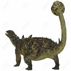 Euoplocephalus armored dinosaur from the Cretaceous Period Canvas Art - Corey FordStocktrek Images x Dinosaur Tails, Monster Design, Period, Moose Art, Lion Sculpture, Canvas Art, Statue, Wall Art, Painting