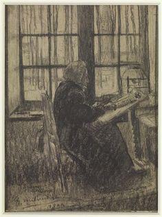 Dentellière à Bruges Milcendeau Charles (1872-1919)