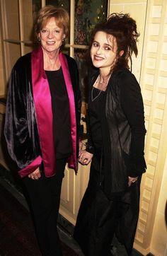 Helena Bonham Carter with Maggie Smith