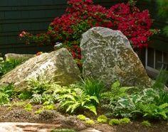 using boulders in design