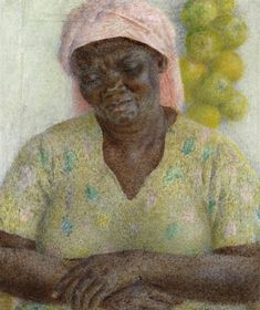 Cookie by Dod Procter,  oil on canvas