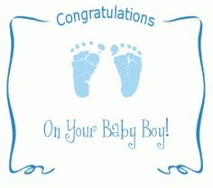 congratulations baby card for boy hd wallpapers