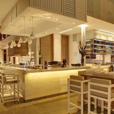 sunshiny-design-spacious-bar-in-the-restaurant-area-modern-home-designs-with-metal-framed-bar-stools-white-mini-pendant-lights-and-walnut-dining-table-connected-kitchen-ideas-with-interior-decorator-a.jpg (1600×1600)