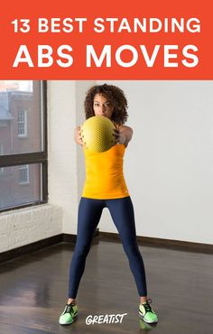 Say sayonara to mat work with these super-effective moves. #standing #abs #workout https://greatist.com/move/abs-workout-best-abs-exercises-you-can-do-standing-up