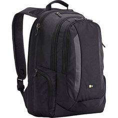 Case Logic 15.6; Laptop Backpack, Black