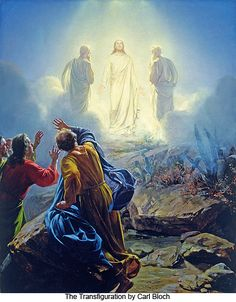 The Transfiguration by Carl Bloch