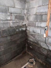 FAZIO WATERPROOFING Foundation waterproofing and leak repair in Albany & Schenectady NY. Solutions for wet leaky walls, leaking wall cracks, & foundation drainage. Sump Pump Drainage, Rainwater Drainage, Water Drainage System, Gutter Drainage, Backyard Drainage, Drainage Ideas, Drainage Solutions, Leaking Basement, Wet Basement