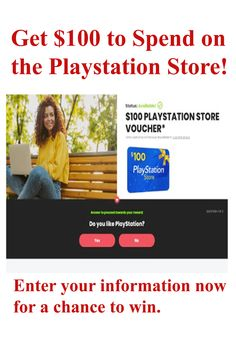 How To Get $100 to Spend on the PlayStation Store | USA. I will walk you through a simple strategy that you would use to get #free 100$ to spend on the #PlayStation store . And you should mind that this method works for only those in the United States and on a mobile phone.  #singleplayer #playstation4 #playstation #ps4pro #generaciongamer #psn #dualshock4 #cosasdegamer #psplus #xboxgamepass #playstationstore #codigosplaystationstore #balanceplaystationstore #giftcardplaystationstore Ps Plus, Game Pass, Single Player, Play Online, Free Games, Games To Play, Playstation, The 100, United States