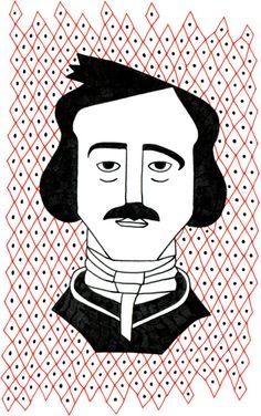 Edgar Allan Poe Scrittore statunitense inventore del racconto poliziesco, della letteratura dell'orrore e del giallo psicologico.