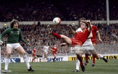 March 1981 League Cup Final at Wembley Liverpool 1 v West Ham United 1 aet Liverpool's Kenny Dalglish stretches for the ball watched by West Ham United goalkeeper Phil Parkes left