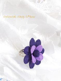 Needle Lace, Some Ideas, Toe Rings, Crochet Designs, Knots, Flowers, Jewelry, Jewels, Stud Earrings