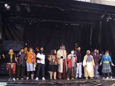 Tercera murga de esta mañana en la Plaza Peralvillo: A.P. Lalo's. En Carnavales ... ¡Santoña te espera!