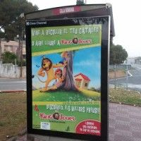 Publicidad mupis Tarragona - KING JOUET TARRAGONA