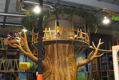 Themed Indoor Playground - Large Tree by Iplayco - Indoor Playground Equipment, via Flickr