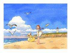 108ピース ジグソーパズル 赤毛のアン 海辺の少女たち (18.2x25.7cm)