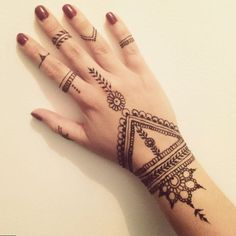 Simple Hand Henna Google Search Henna