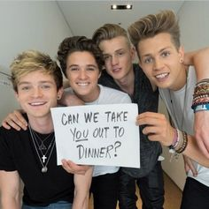 | THE VAMPS INVITING FANS OUT FOR A DATE! | http://www.boybands.co.uk
