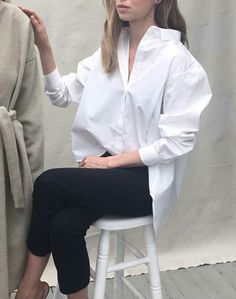 The button up cotton shirt | The UNDONE | www.theundone.com