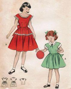 Vintage 1952 Butterick 6026 Sewing Pattern by midvalecottage
