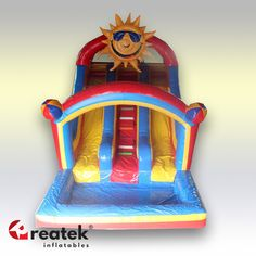 Let us design your custom made inflatable slide. Unlimited colors and shapes to fit your perfect slide expectation. Europe leading manufacturer of inflatable slides REATEK. Logo Shapes, 3d Shapes, Inflatable Slide, Bouncy Castle, Indoor Playground, Central Europe, Design Your Own, Playroom, Balloons