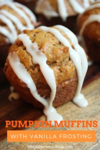 This is one of the best recipes for fall! These pumpkin muffins are made from scratch and taste similar to the pumpkin bread from Starbucks. The ingredients are simple but you can easily add in chocolate chips, raisins, etc. This easy to follow recipe can also be made into a homemade bread loaf for a classic gift. There are also instructions for a simple vanilla frosting. Try these scrumptious bits today!