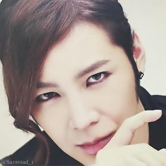 the only guy who looks so handsome with eyeliner ! ^^ #JangKeunSuk #JKS #チャングンソク #장근석