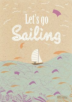 Carolina Grönholm Illustration Web Portfolio let's go sailing