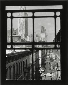 Third Avenue, New York City (André Kertész, 1937)