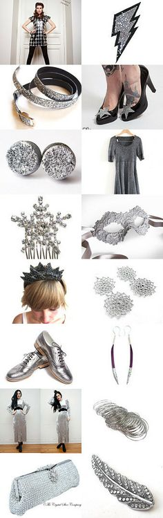 Silver Bells by Beth Paton on Etsy--Pinned with TreasuryPin.com
