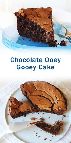When chocolate cravings strike, reach for this Triple Chocolate Ooey Gooey Butter Cake recipe Chocolate Butter Cake, Chocolate Desserts, Vegan Desserts, Fun Desserts, Delicious Desserts, Ooey Gooey Chocolate Cake Recipe, Best Dessert Recipes, Cake Recipes, Healthy Recipes