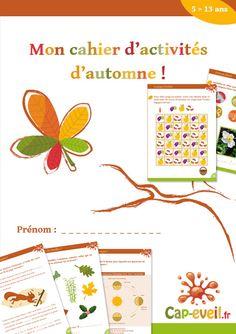 Cahiers d'activités et de jeux autour de l'automne