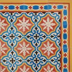 traditional morrocan tiles