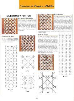 Recopilacion de Lecciones de Encaje a Bolillos de Labores del Hogar, Cuaderno Bolillos - susfefa - Picasa Web Albums