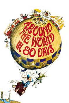 Around the World In 80 Days (1956) - Michael Anderson | Action...: Around the World In 80 Days (1956) - Michael… #ActionampAdventure