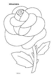La maestra Linda: Primavera da colorare Easy Coloring Pages, Flower Coloring Pages, Applique Patterns, Flower Patterns, Moldes Para Baby Shower, Lotus Flower Art, Kindergarten Coloring Pages, Cool Paper Crafts, Flower Template