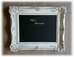 Brocante krijtbord ♥ chalkboard www.anyes-brocante.nl
