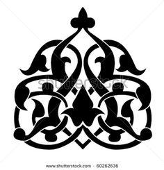 Arabic floral pattern