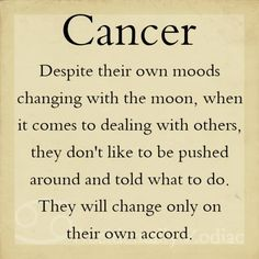 My Zodiac Sign Cancer!