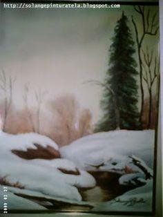 Solange Gama Coelho: Pintura em Tela,Tecido,Cursos-9196-6422(Claro),9854-3743(Tim)-Curitiba: Pintura em Tela: paisagem