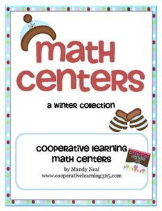 Here's a set of winter-themed math centers with activities on rounding and multiplication.