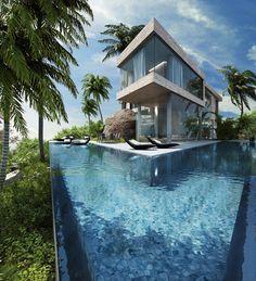 Unbelievable Luxury Resort Villas In Bodrum, Turkey ➤Discover the season's newest designs and inspirations. Visit us at www.designbuildideas.eu #designbuildideas #homedecorideas #colorschemeideas @designbuildideas