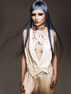 Avant-garde #hair #makeup