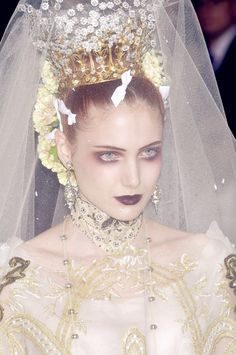 Christian Lacroix Wedding Haute Couture Fall 2005 | The House of Beccaria#