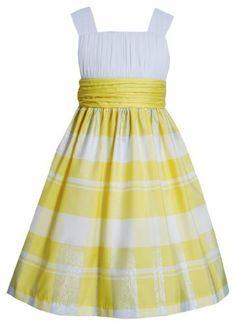 Bonnie Jean Girls 7-16 Yellow White Knit to Metallic Plaid Taffeta Dress, http://www.amazon.com/dp/B00HTB086E/ref=cm_sw_r_pi_awdm_WT68sb1BP56EE