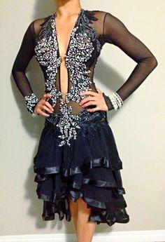 Classified Ads: Costumes: Classy & Sexy Mesh Latin Dress