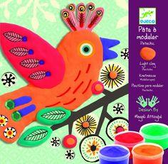 Djeco Πλαστοζυμαράκι Eξωτικά Πουλιά